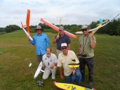 The Sixth Annual Glider Golf Event 2016.